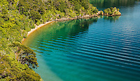 Governors Bay in Marlborough Sounds, Nelson Region, Marlborough, South Island, New Zealand