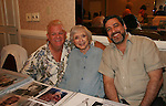 "Johnny Whitaker ""Scotty Baldwin"" GH and Family Affair & Celeste Holm - Loving - both appeared in Tom Sawyer together at 4th Annual Mid-Atlantic Nostalgia Convention in Aberdeen, Maryland. Also in photo is Celeste's husband Frank. (Photo by Sue Coflin/Max Photos)"