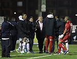 En el segundo juego adelantado de la fecha 14, Chicó FC, en un vibrante compromiso, consiguió su primera victoria en el Apertura 2015 ante Atlético Nacional, tras vencerlo 3 – 2 en la noche de este miércoles en el estadio La Independencia de Tunja.