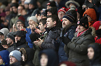 Fleetwood Town fans observe a minutes applause ahead of kick-off<br /> <br /> Photographer Rich Linley/CameraSport<br /> <br /> The EFL Sky Bet League One - Fleetwood Town v Oxford United - Saturday 12th January 2019 - Highbury Stadium - Fleetwood<br /> <br /> World Copyright &copy; 2019 CameraSport. All rights reserved. 43 Linden Ave. Countesthorpe. Leicester. England. LE8 5PG - Tel: +44 (0) 116 277 4147 - admin@camerasport.com - www.camerasport.com
