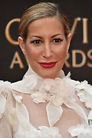 Laura Pradelska<br /> The Olivier Awards 2018 , arrivals at The Royal Albert Hall, London, UK -on April 08, 2018.<br /> CAP/PL<br /> &copy;Phil Loftus/Capital Pictures