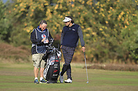 Pedro Oriol (ESP) on the 3rd fairway during Round 2 of the Sky Sports British Masters at Walton Heath Golf Club in Tadworth, Surrey, England on Friday 12th Oct 2018.<br /> Picture:  Thos Caffrey | Golffile<br /> <br /> All photo usage must carry mandatory copyright credit (&copy; Golffile | Thos Caffrey)