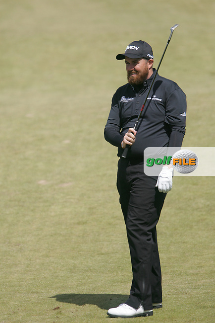 Shane LOWRY (IRL) chipping onto the 16th green during the final round of the 2015 Dubai Duty Free Irish Open hosted by the Rory Foundation, Royal County Down Golf Club, Newcastle Co Down, Northern Ireland. 31/05/2015<br /> Picture TJ Caffrey, www.golffile.ie