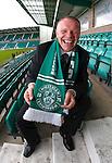 100609 John Hughes Hibs manager
