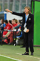 Milena Bertolini gestures during the match.<br /> Palermo 08-10-2019 Stadio Renzo Barbera <br /> UEFA Women's European Championship 2021 qualifier group B match between Italia and Bosnia-Herzegovina.<br /> Photo Carmelo Imbesi / Insidefoto