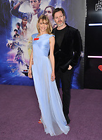 Jaime King &amp; Kyle Newman at the premiere for &quot;Ready Player One&quot; at The Dolby Theatre, Los Angeles, USA 26 March 2018<br /> Picture: Paul Smith/Featureflash/SilverHub 0208 004 5359 sales@silverhubmedia.com