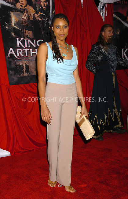 Deborah Cox attending the premiere of 'King Arthur' in New York, June 28, 2004. Please byline: AJ SOKALNER/ACE Pictures.   .. *** ***..All Celebrity Entertainment, Inc:  ..contact: Alecsey Boldeskul (646) 267-6913 ..Philip Vaughan (646) 769-0430..e-mail: info@nyphotopress.com