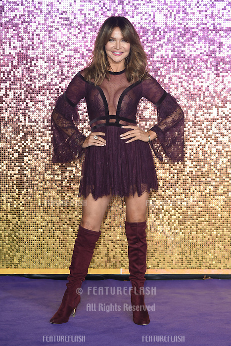 LONDON, UK. October 23, 2018: Lizzie Cundy at the world premiere of &quot;Bohemian Rhapsody&quot; at Wembley Arena, London.<br /> Picture: Steve Vas/Featureflash