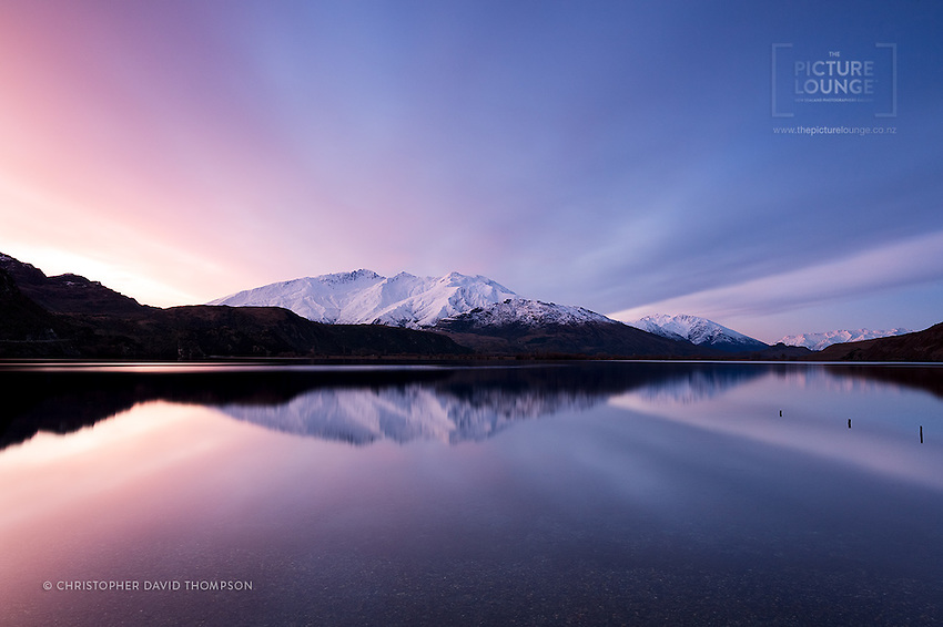 A very aptly titled image - capturing the beauty of the landscape, and simply the best reason as to why Wanaka-based outdoor photographer Christopher Thompson has chosen this as his vocation, an expression of talent, creativity and the wonders of nature...