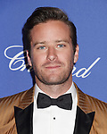 PALM SPRINGS, CA - JANUARY 02: Actor Armie Hammer arrives at the 29th Annual Palm Springs International Film Festival Film Awards Gala at Palm Springs Convention Center on January 2, 2018 in Palm Springs, California.