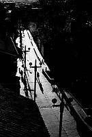 Usaquen an old neighborhood of Bogota..Bogota, Colombia 2003<br />