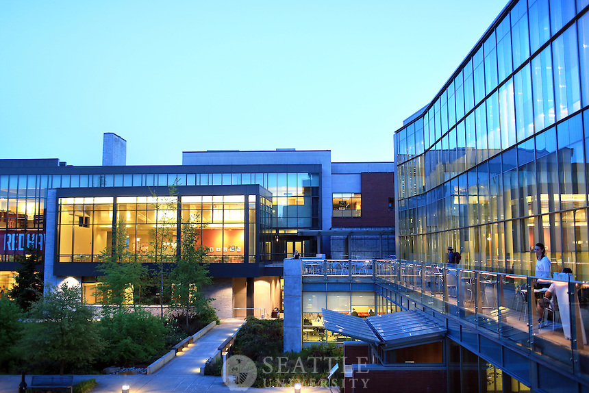 04202015-  Seattle University - Spring<br /> <br /> Lemieux Library