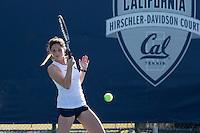 BERKELEY, CA - January 30, 2017: Cal beats Missouri, 4-0, at  Hellman Tennis Complex.