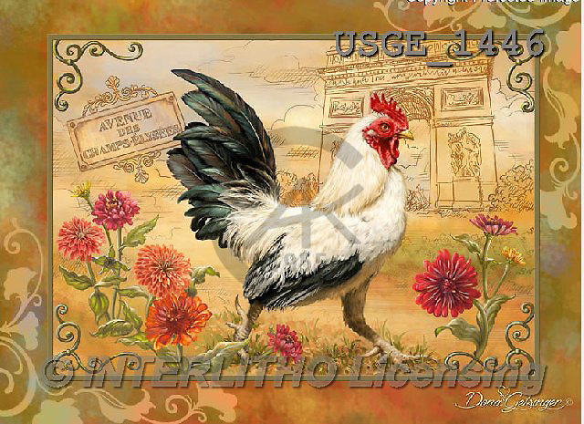Dona Gelsinger, STILL LIFE STILLLEBEN, NATURALEZA MORTA, flowers, Blumen, flores, paintings+++++,USGE1446,#I#,#F# ,roosters ,autumn,fall