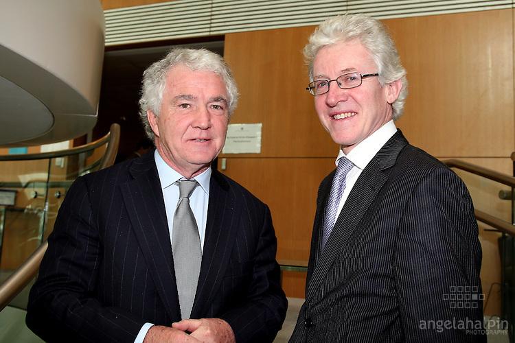 IFSC Phase 2.Institude of Bankers.March 5th 2008 .Sean Fitzpatrick (Anglo Irish Bank), Aidan Brady (Citibank Ireland)