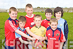 Saint John's Parochial School, Tralee, From Left: Jake Foley, Nico Roche, Nathan Ronan, Jack Rice, Mark Lynch and Christian Steinborn pictured at the Kerry national schools 5 a side soccer Blitz at Christy Leahy Park, Cahermoneen, Tralee on Tuesday.