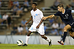 02 October 2012: UNC's Jordan McCrary. The University of North Carolina Tar Heels defeated the Georgia Southern Eagles 2-0 at Fetzer Field in Chapel Hill, North Carolina in a 2012 NCAA Division I Men's Soccer game.