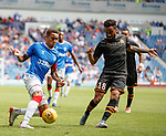 14.07.2019: Rangers v Marseille: James Tavernier and Jordan Amavi