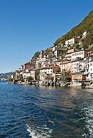 Switzerland, Ticino, Gandria at Lago Lugano | Schweiz, Tessin, Gandria am Luganer See