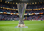 The Europa League trophy on display during the UEFA Europa League Final match at the Friends Arena, Stockholm. Picture date: May 24th, 2017.Picture credit should read: Matt McNulty/Sportimage