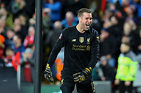 Liverpool's Adrian celebrates after his side scored the opening goal<br /> <br /> Photographer Alex Dodd/CameraSport<br /> <br /> Emirates FA Cup Third Round - Liverpool v Everton - Sunday 5th January 2020 - Anfield - Liverpool<br />  <br /> World Copyright © 2020 CameraSport. All rights reserved. 43 Linden Ave. Countesthorpe. Leicester. England. LE8 5PG - Tel: +44 (0) 116 277 4147 - admin@camerasport.com - www.camerasport.com