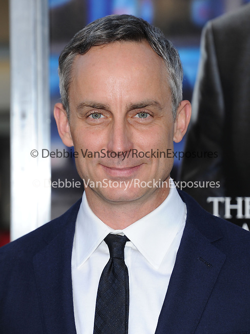 Wallace Langham attends The L.A. Premiere of Summit Entertainment's DRAFT DAY held at The Regency Village Theatre in Westwood, California on April 07,2014                                                                               © 2014 Hollywood Press Agency