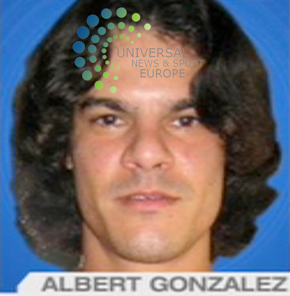 Albert Gonzalez, 28, a former US government informant, who hacked into retail networks to steal 130 million debit and credit card numers, has been charged over the country's largest financial data theft. Gonzalez,  of Florida, is accused of stealing 130 million accounts, on top of 40 million he himself stole previously, according to prosecutors.He was an ex-informant for the US Secret Service, which he helped hunt hackers, authorities say. Gonzalez, already in jail awaiting trial in another hacking case, was indicted in the state of New Jersey and charged with conspiring with two other unidentified suspects to steal the private information. Prosecutors say the goal was to sell the stolen data to others..Picture: 18 August 2009: Universal News and Sport (Scotland)/NBC.All pictures must be credited to  www.universalnewsandsport.com.(0ffice) 0844 884 51 22. (Universal News does not claim any Copyright or License in the attached material. Any downloading fee charged by Universal News and Sport is for Universal News services only. We are advised that videograbs should not be used more than 48 hours after the time of original transmission, without the consent of the copyright holder). .