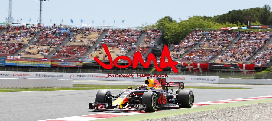 Daniel Ricciardo (AUS) Red Bull  Formula 1, Spanish Grand Prix, Barcelona.