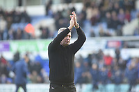 Ipswich Town's manager Paul Lambert  fighting back the tears<br /> <br /> Photographer Hannah Fountain/CameraSport<br /> <br /> The EFL Sky Bet Championship - Ipswich Town v Birmingham City - Saturday 13th April 2019 - Portman Road - Ipswich<br /> <br /> World Copyright © 2019 CameraSport. All rights reserved. 43 Linden Ave. Countesthorpe. Leicester. England. LE8 5PG - Tel: +44 (0) 116 277 4147 - admin@camerasport.com - www.camerasport.com