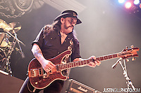 Live concert photo of Lemmy & Motorhead @ Congress Theater Chicago by http://www.justingillphoto.com