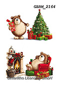 Roger, CHRISTMAS ANIMALS, WEIHNACHTEN TIERE, NAVIDAD ANIMALES, paintings+++++,GBRM2164,#xa#