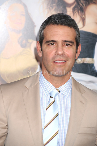Andy Cohen at the film premiere of 'Sex and the City 2' at Radio City Music Hall in New York City. May 24, 2010.Credit: Dennis Van Tine/MediaPunch