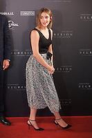 British actress Emma Watson during the `Regresion´ (Regression) film presentation in Madrid, Spain. August 27, 2015. (ALTERPHOTOS/Victor Blanco)