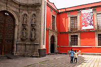 Entrance to the Franz Mayer Museum in Mexico City
