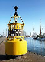 Nederland  Enkhuizen- 2017.  De haven van Enkhuizen. Enkhuizen Boeit.   Foto Berlinda van Dam / Hollandse Hoogte