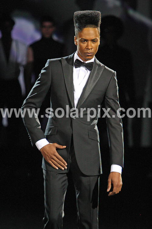 **ALL ROUND PICTURES FROM SOLARPIX.COM**                                             **WORLDWIDE SYNDICATION RIGHTS**                                                                                  Caption:  The Ozwald Boateng show at London Fashion Week 2010, London, UK. 22 September 2010                                                                             This pic: Ozwald Boateng show                                                                                        JOB REF: 12173 MLW       DATE: 22_09_2010                                                           **MUST CREDIT SOLARPIX.COM OR DOUBLE FEE WILL BE CHARGED**                                                                      **MUST AGREE FEE BEFORE ONLINE USAGE**                               **CALL US ON: +34 952 811 768 or LOW RATE FROM UK 0844 617 7637**