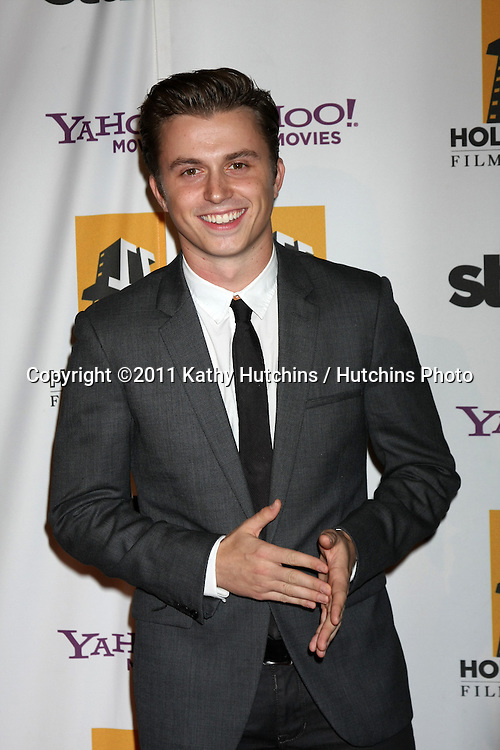 LOS ANGELES - OCT 24:  Kenny Wormald arriving at the 15th Annual Hollywood Film Awards Gala at Beverly Hilton Hotel on October 24, 2011 in Beverly Hllls, CA