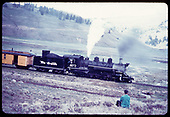 53-8 passenger engine on Los Pinos curve, Colorado.&quot;<br /> C&amp;TS (D&amp;RGW)  Los Pinos, CO  Taken by LeMassena, Robert A. - 6/1975