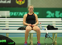 Rotterdam, The Netherlands, March 18, 2016,  TV Victoria, NOJK 14/18 years, Annick Melgers (NED)<br /> Photo: Tennisimages/Henk Koster
