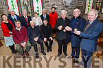 Front l-r Fr. Eamon Mulvihill, Spa, Fr. Patsy Lynch, St. Brendan's Tralee, Fr. Tadhg Fitzgerald, St. John's Tralee, Back l-r Tom Fitzgerald, Fr Seamus Linnane, Fr Bernard Healy, Anne O'Shea Daly, Denis Kelliher, Dermot Crowley, Ann Dalton, Bill Looney, Norma Foley  at the launch of the Lenten Justice Talks by Richard Moore on Monday 13th March at 7.30pm in St. John's Church