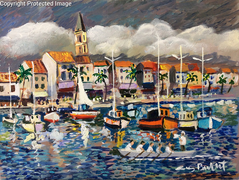 &quot;Sanary Harbor&quot;<br />