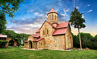 "Picture & image of the  Betania (Bethania ) Monastery of the Nativity of the Mother of God Georgian Orthodox complex, Georgia.<br /> <br /> Betania (Bethania ) Monastery of the Nativity of the Mother of God is a 11th century church with a cruciform ground plan and dome in the style of Georgian Orthodox church  architecture of the ""Golden Age"" of the Kingdom of Georgia."