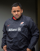 Saracens' Billy Vunipola<br /> <br /> Photographer Bob Bradford/CameraSport<br /> <br /> Gallagher Premiership - Bristol Bears v Saracens - Saturday 13th April 2019 - Ashton Gate - Bristol<br /> <br /> World Copyright © 2019 CameraSport. All rights reserved. 43 Linden Ave. Countesthorpe. Leicester. England. LE8 5PG - Tel: +44 (0) 116 277 4147 - admin@camerasport.com - www.camerasport.com