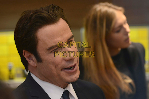 John Travolta <br /> attends the launch of the new Breitling UK Flagship Boutique in the heart of Mayfair, New Bond Street, London, UK,<br /> 27th June 2013<br /> portrait headshot goatee beard facial hair <br /> CAP/IA<br /> &copy;Ian Allis/Capital Pictures