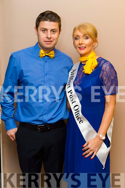 John Farragher and Kay Cronin at Ballymac Strictly Come Dancing, at Ballygarry House Hotel & Spa, Tralee, on Saturday night