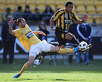100822 A-League Football - Wellington Phoenix v Central Coast Mariners