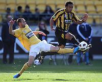 100822 A-League Football - Wellington Phoenix v Central Coast Mariners