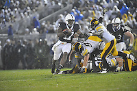 26 September 2009:  Penn State QB Daryll Clark (17) runs..The Iowa Hawkeyes defeated the Penn State Nittany Lions 21-10 at Beaver Stadium in State College, PA..