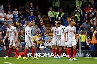 GOAL - Lys Mousset of Sheffield United scores a late leveller during the Premier League match between Chelsea and Sheff United at Stamford Bridge, London, England on 31 August 2019. Photo by Carlton Myrie / PRiME Media Images.