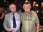 Tommy Cowley celebrating his 70th birthday in The Westcourt Hotel with his brother Jim. Photo:Colin Bell/pressphotos.ie